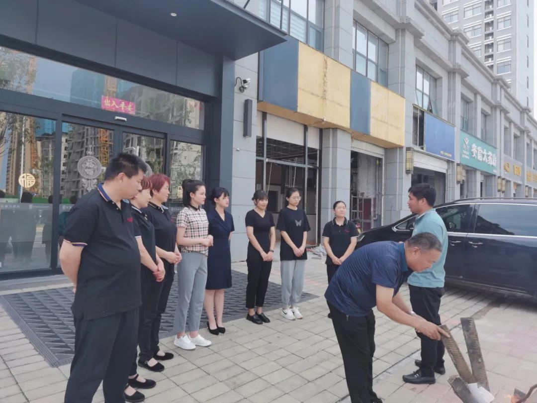 中发恒之轩酒店开展消防安全培训演练活动